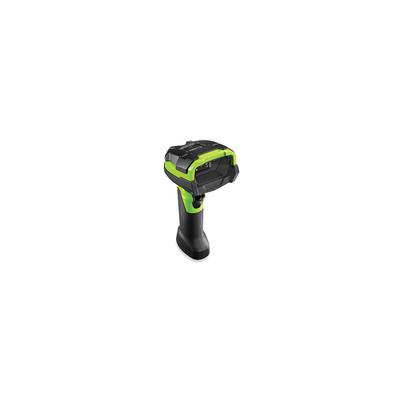 Zebra DS3678-HD Barcode scanner - Zwart, Groen