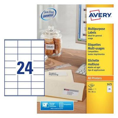Avery Zweckform 3475 Etiket