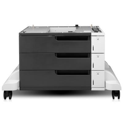 HP LaserJet 3x500-sheet invoerlade met standaard Papierlade