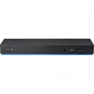 Hp mobile device dock station: Elite USB-C Dock - Zwart