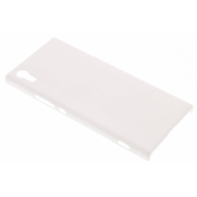 Frosted Shield Backcover Sony Xperia XA1 - Wit / White Mobile phone case