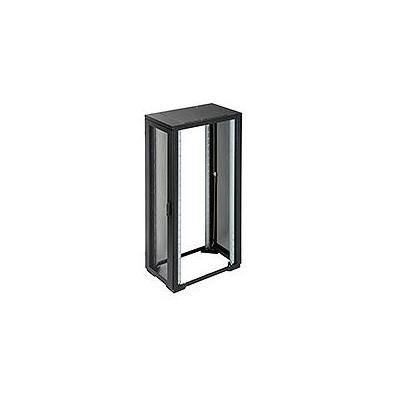 Eaton rack: RE Series IT Rack: 42U x 600mmW x 800mmD. Perforated Doors with no sides - Zwart