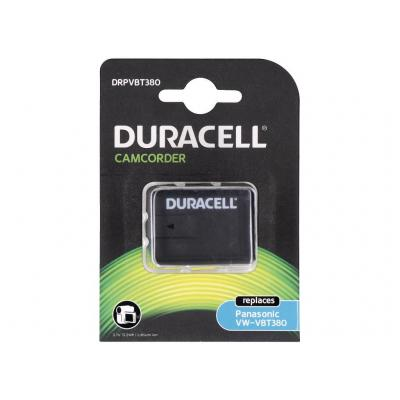 Duracell Duracell Camcorder Battery 3.7V 3560mAh replaces Panasonic VW-VBT380 Battery