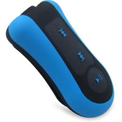 Difrnce MPW720 - Waterproof MP3 Speler - 4 GB - Blauw MP3/MP4-spelers