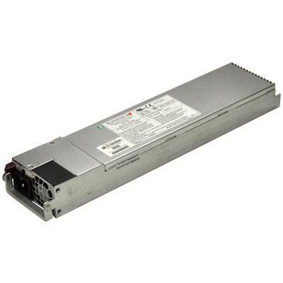Supermicro PWS-721P-1R - 720W, 50/60Hz, 1U Power supply unit - Roestvrijstaal