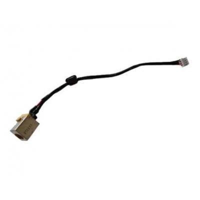 Acer notebook reserve-onderdeel: DC-In Jack cable - Zwart