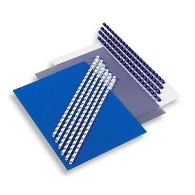Gbc inbindkit: CombBind Selectiepakket - Zwart, Blauw, Transparant, Wit