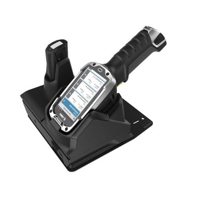 Zebra Single Slot USB Cradle w/Spare Battery Charger Barcodelezer accessoire - Zwart