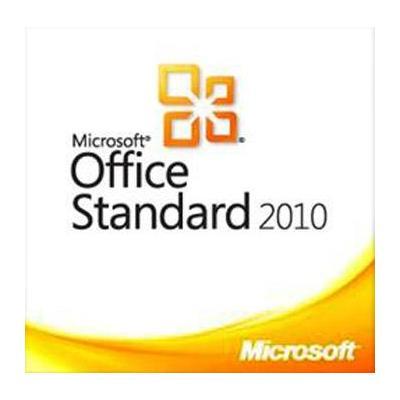 Microsoft Office Standard 2010, OLP-NL, LIC/SA, GOV, ENG Software suite