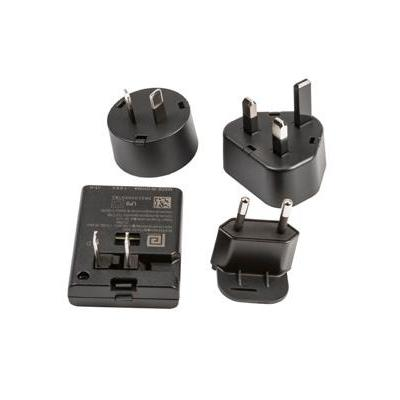 Intermec Power Plug Adapter Kit stekker-adapter - Zwart