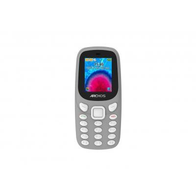 Archos mobiele telefoon: Core 18F - Zwart, Grijs, Alphanumeric keypad