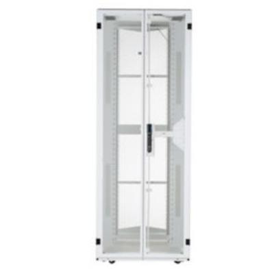Panduit White, Steel, 700 x 1200 x 1999 mm, 42U Rack - Wit