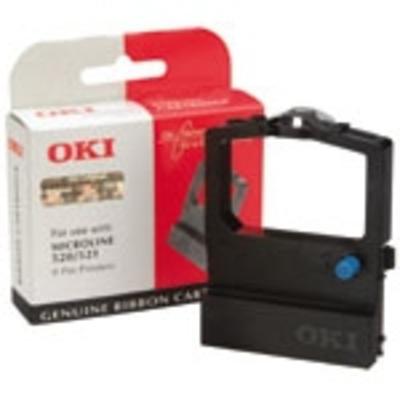 OKI printerlint: Inktlintcassette voor ML520/521, Zwart