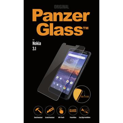 PanzerGlass Nokia 3.1 Edge-to-Edge Screen protector - Transparant