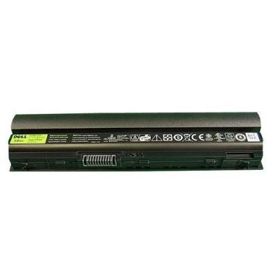 Dell batterij: 58WHr 6-cell - Zwart