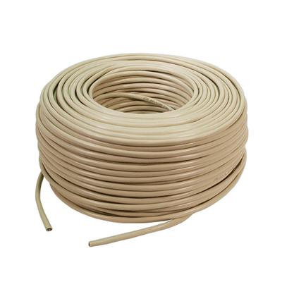 LogiLink CAT5e Raw cable Netwerkkabel - Beige