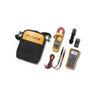 Fluke multimeter: 117/323 Electricians Multimeter Combo Kit