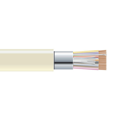 Black Box Extended-Distance Data Cable, Office Environment, PVC Jacket, 25 Conductors (12 1/2 Pairs), 500-ft. .....