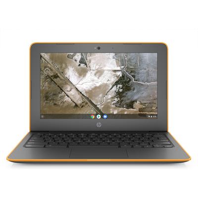 HP Chromebook 11A G6 EE Laptop - Grijs, Oranje