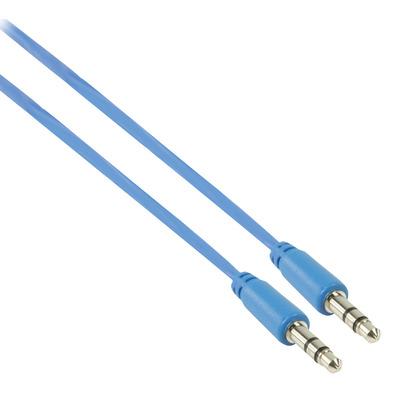 Valueline 1m 3.5mm, M - M - Blauw