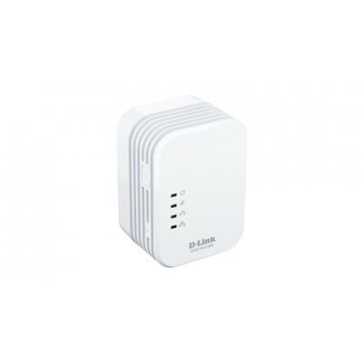 D-link powerline adapter: PowerLine AV 500 Wireless N Extender - Wit