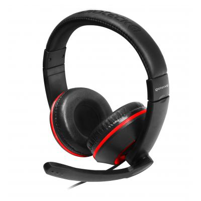Gioteck game assecoire: Gioteck, XH-100 Wired Stereo Headset (Black / Red) (PC / MAC / PS4 / Xbox One)
