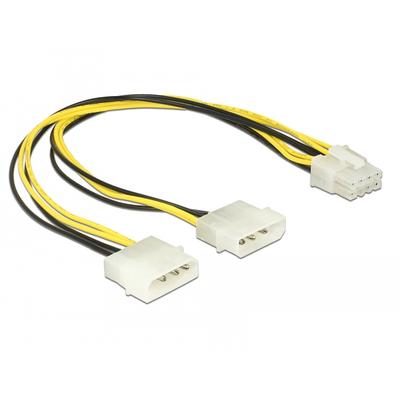 DeLOCK 85453 - Zwart, Wit, Geel