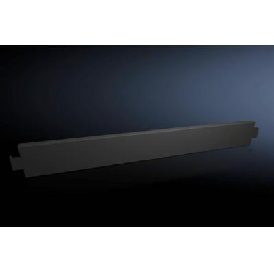 Rittal kabelgootaccessoire: Base/plinth trim panels, side, 100 mm for base/plinth system VX - Zwart