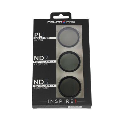 Polar pro filters camera filter: DJI Inspire 1 Filter 3-Pack - Zwart