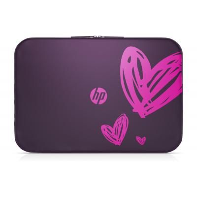 "Hp laptoptas: 15.6"" Spectrum Sleeve Ladies edition - Paars"