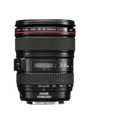 Canon camera lens: EF 24-105mm f/4L IS USM - Zwart