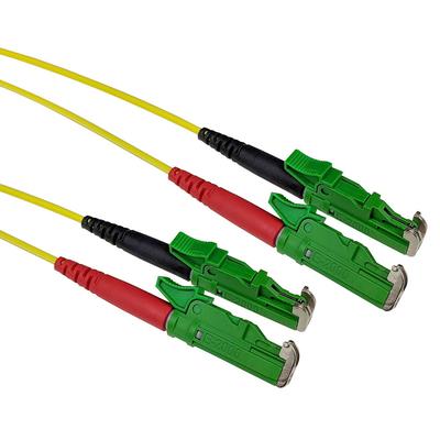 ACT 0,5m LSZH Singlemode 9/125 OS2 glasvezel patchkabel duplexmet E2000/APC en E2000/APC connectoren Fiber optic .....