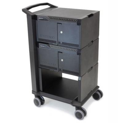 Ergotron multimedia kar & stand: Cart 32 - Zwart