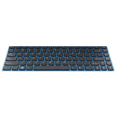 Lenovo notebook reserve-onderdeel: Keyboard for IdeaPad Z380/Z480/Z485 - Zwart, Blauw