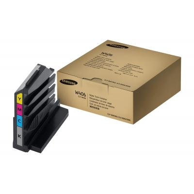 Samsung toner collector: Waster Toner Bottle (rendement 1750 pagina's Magenta Cyaan Yellow ; 7000 pagina's Zwart)