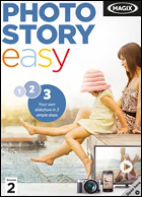 Magix grafische software: Photostory easy 2 (download versie)