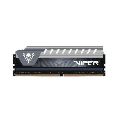 Patriot Memory Viper Elite Series 8GB DDR4 2666MHz RAM-geheugen - Zwart,Grijs