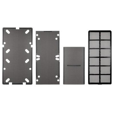Corsair Obsidian Series 550D dust filters - bottom, front, top, and side Computerkast onderdeel
