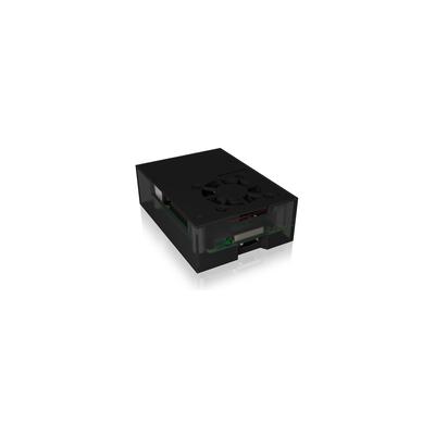ICY BOX IB-RP108 - Antraciet, Zwart