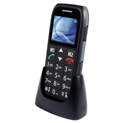 Fysic FM-7500, SMS, Menu, Microfoon, Micro USB Mobiele telefoon - Zwart