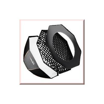 Walimex softbox: pro Octa Softbox PLUS OL Ø45 Multiblitz P - Zwart, Wit