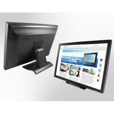 "Winsonic 61.214 cm (24.1"") LCD monitor, 1920 x 1200, LED 300 nits, VGA input Public display - Zwart"