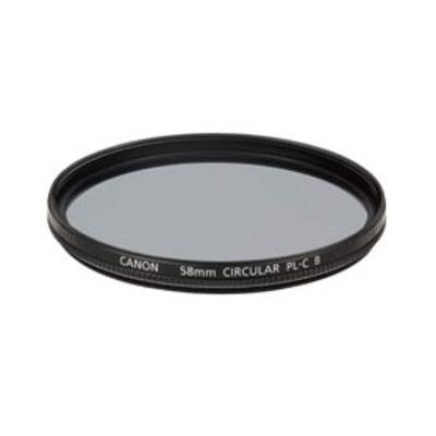 Canon PL-C B Filter 58mm Camera filter - Zwart
