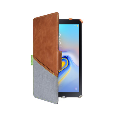 Gecko Limited Tablet case - Bruin, Grijs
