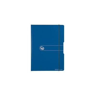 Herlitz klembord: clipboard folder, A4, polyfoam - Blauw