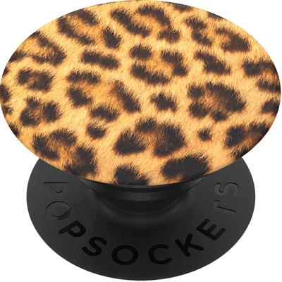 PopSockets Cheetah Chic Houder - Zwart,Bruin,Geel