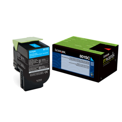 Lexmark 80C2SC0 cartridge