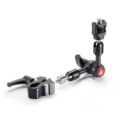 Manfrotto Friction arm with Anti-rotation attachment and Nano Clamp Statief accessoire - Zwart