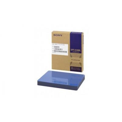 Sony thermal papier: 125 sheets, 202 x 253 mm, Blue