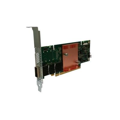 Intel interfaceadapter: Omni-Path Host Fabric Interface Adapter 100 Series 1 Port PCIe x8 Low Profile - Groen, Grijs